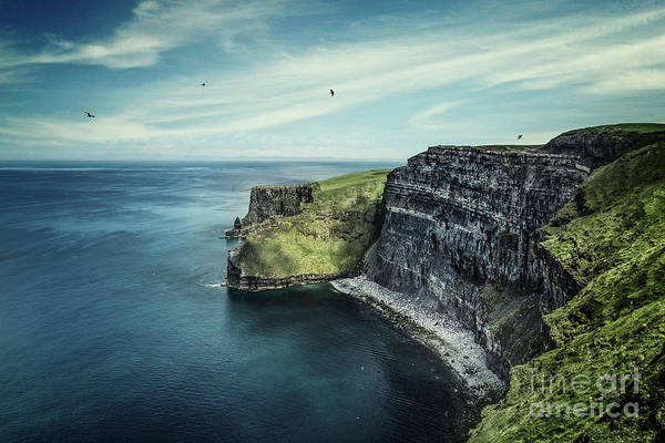 Wall Art - Photograph - Cliffside by Evelina Kremsdorf