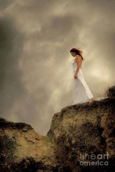 Photograph - Clifftop Bride by Clayton Bastiani