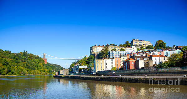 Photograph - Clifton Suspension Bridge And Avon Gorge by Colin Rayner