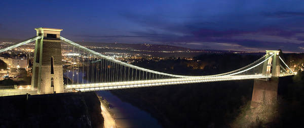Photograph - Clifton Suspension Bridge by Tony Mills