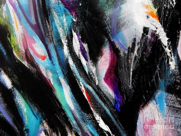 Dominate Painting - Climb by Expressionistart studio Priscilla Batzell