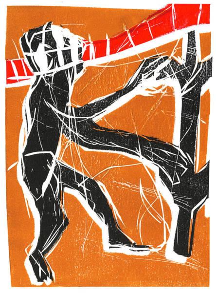 Relief - Climbing Monkey by Artist Dot