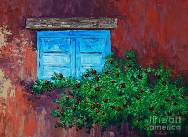 Painting - Climbing Roses by Cheryl Fecht