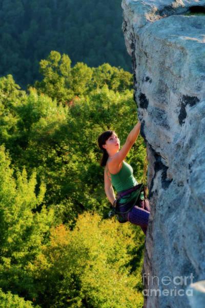 Photograph - Climbing Up The Rock by Dan Friend