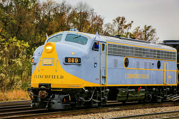 Photograph - Clinchfield No 800 by Dale R Carlson