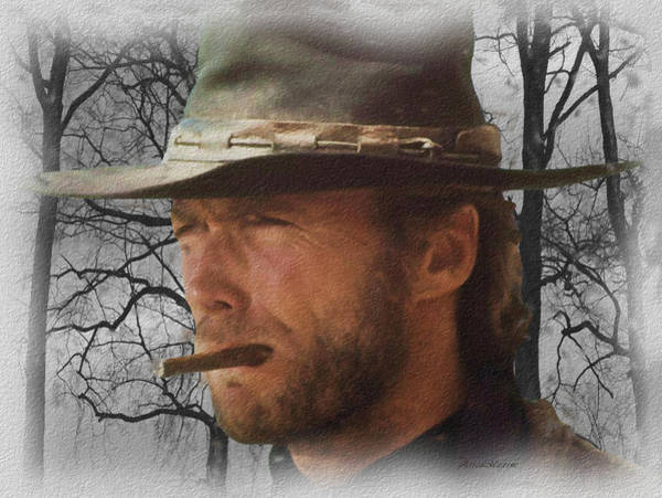 Photograph - Clint Eastwood 002 by Ericamaxine Price