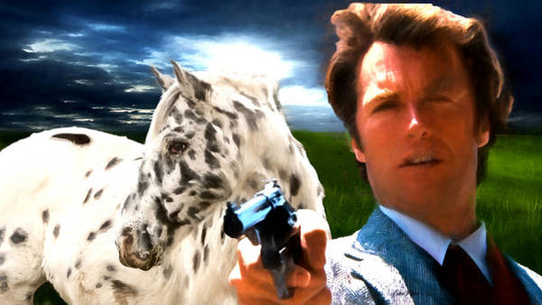 Photograph - Clint Eastwood As Dirty Harry by Ericamaxine Price