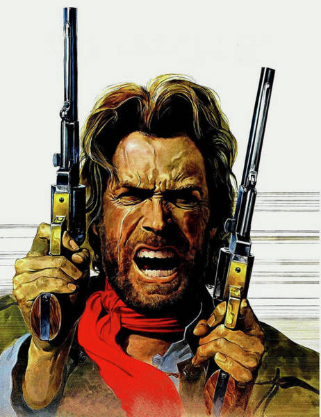 Clint Eastwood As Josey Wales Art Print