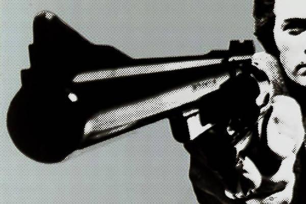 Painting - Clint Eastwood Big Gun by Tony Rubino