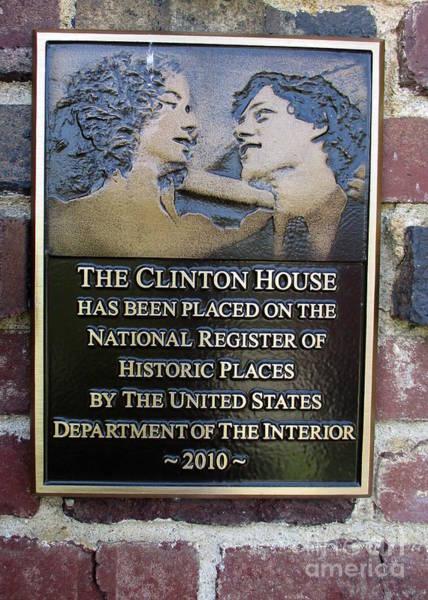 Hillary Clinton Photograph - Clinton House Museum 2 by Randall Weidner