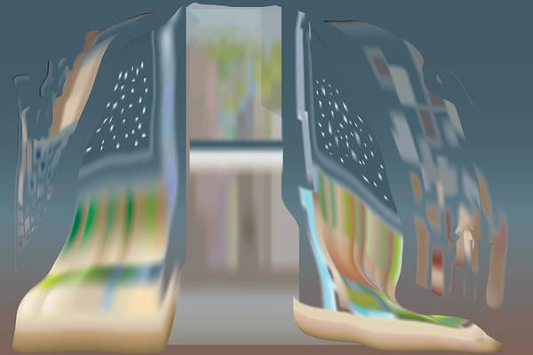 Digital Art - Cloak City by Kevin McLaughlin