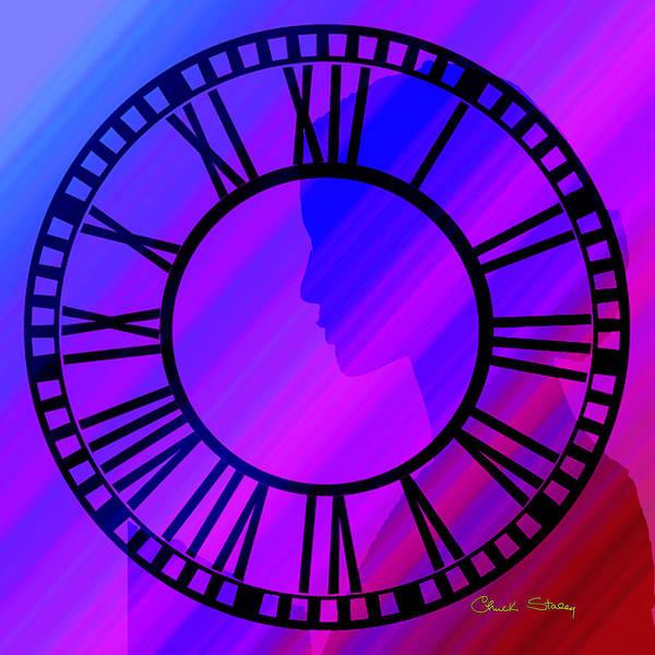 Digital Art - Clock Face by Chuck Staley