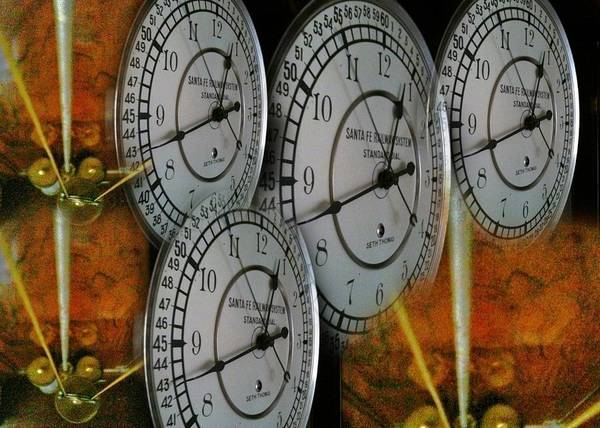 Wall Art - Digital Art - Clock Guts by Judy Nelson