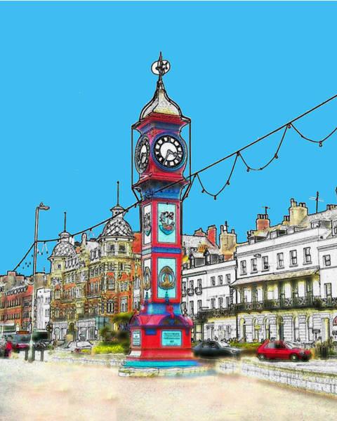 Clock Tower Art Print by Paul Hemmings