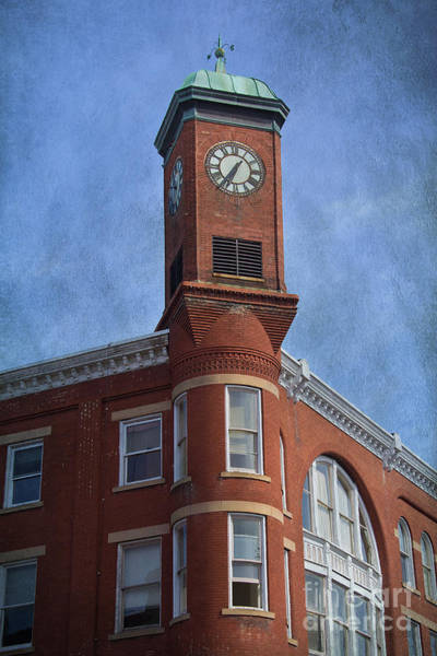 Photograph - Clock Tower Staunton by Jemmy Archer