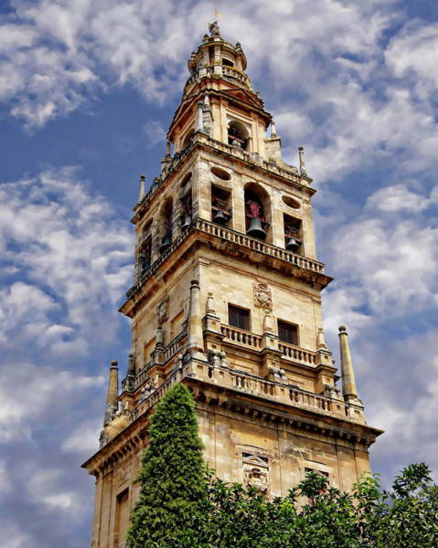 Photograph - Clocktower Of Cordoba by Anthony Dezenzio