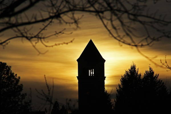 Expo 74 Photograph - Clocktower Sunset 7757 by Donald Sewell