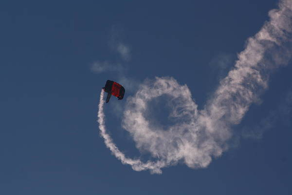 Skydiver Photograph - Clockwise by Kevin  Sherf