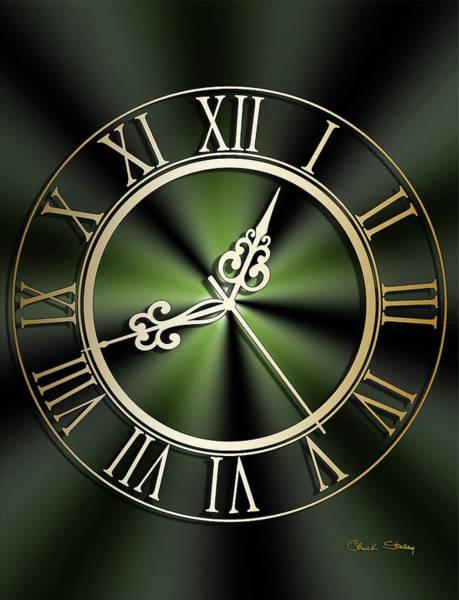 Digital Art - Clockwork Emerald by Chuck Staley