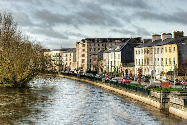 Suir Photograph - Clonmel Town by Kevin Isabeth