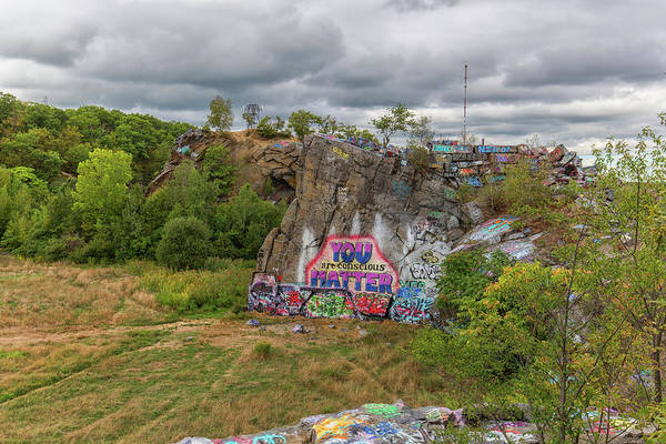 Photograph - Cloouds Over Quincy Quarries by Brian MacLean