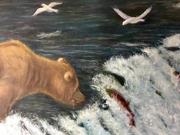 Wall Art - Painting - Close Call 2 by Jennifer Kwon