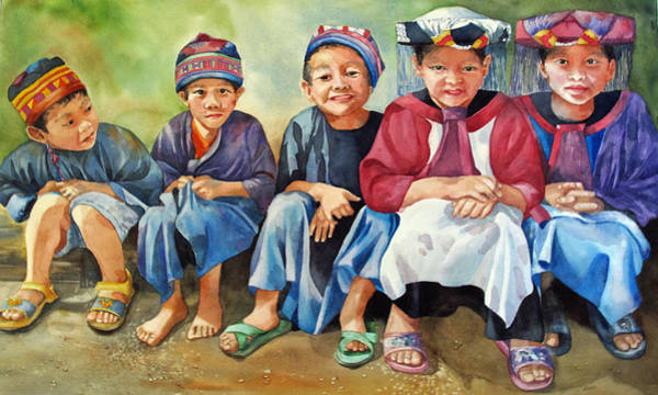 Painting - Close Thais by Diane Fujimoto