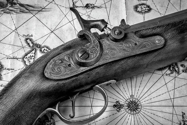 Wall Art - Photograph - Close Up Antique Pistole by Garry Gay