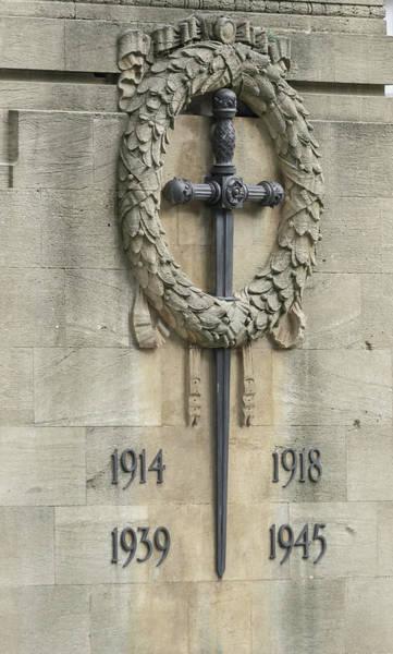Photograph - Close Up Of Bristol Cenotaph by Jacek Wojnarowski