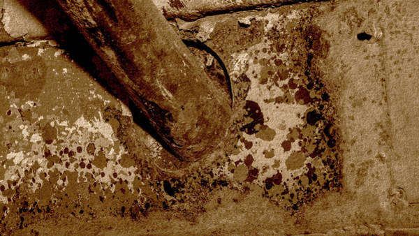 Photograph - Close Up Of Corroded Pipe Fine Art by Jacek Wojnarowski
