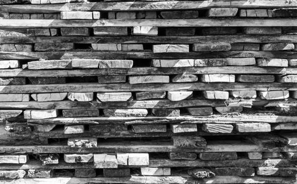 Photograph - Close-up Of Stacked Wood Textures by John Williams