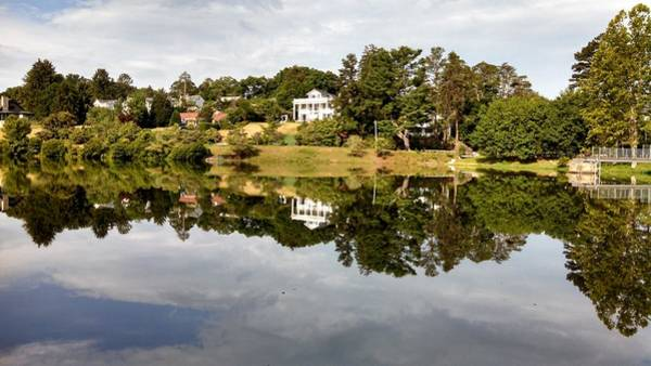 Photograph - Close Water Reflections by Allen Nice-Webb
