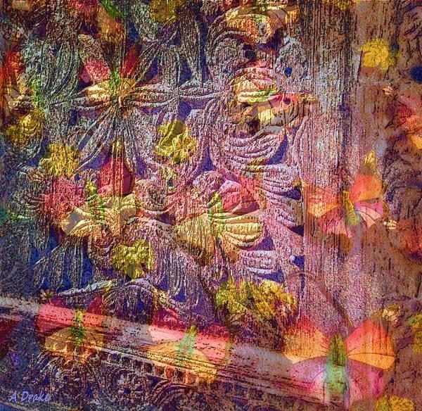 Digital Art - Closed Butterfly Door by Alec Drake