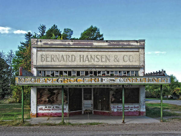 Photograph - Closed For Business by David King