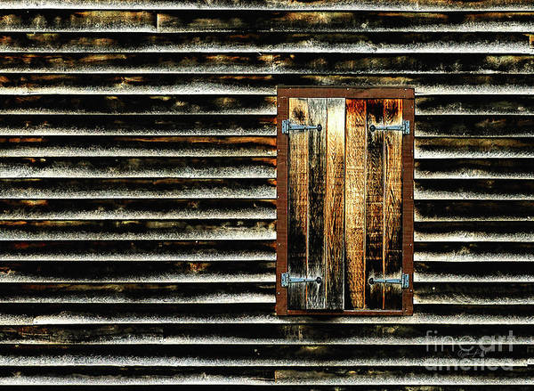 Wall Art - Photograph - Closed Window by Elijah Knight