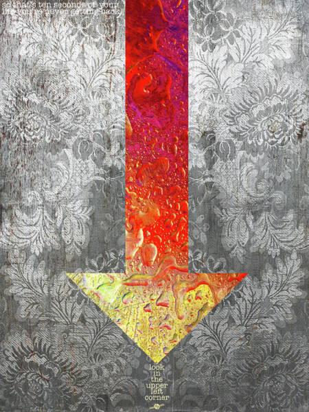 Mixed Media - Closely 2 by Tony Rubino