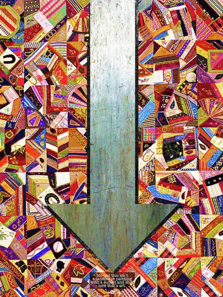 Mixed Media - Closely 5 by Tony Rubino