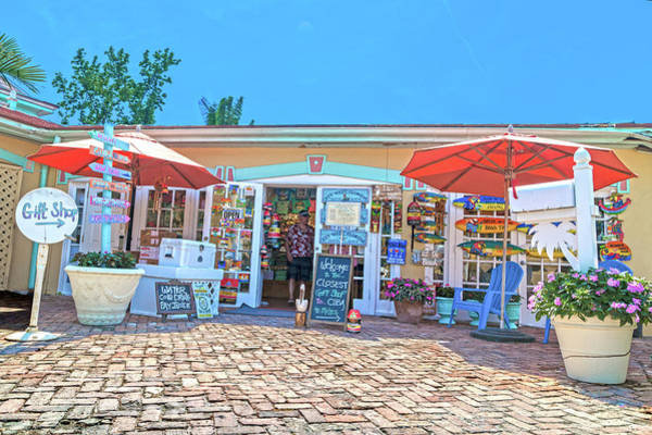 Saying Photograph - Closest Gift Shop To Cuba Key West Florida by Betsy Knapp