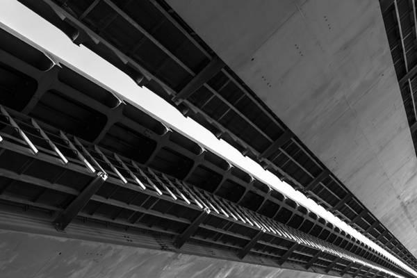 Photograph - Bridge Diagonal by John Williams