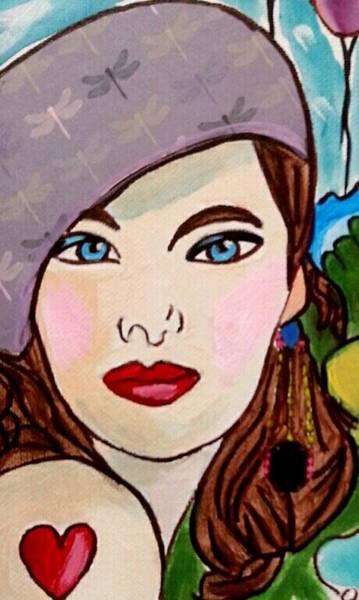 Painting - Closeup by Nikki Dalton