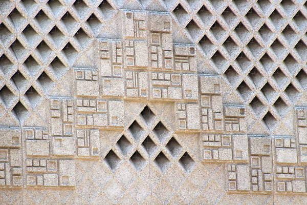 Photograph - Closeup Of Federal Courthouse Roswell by Colleen Cornelius