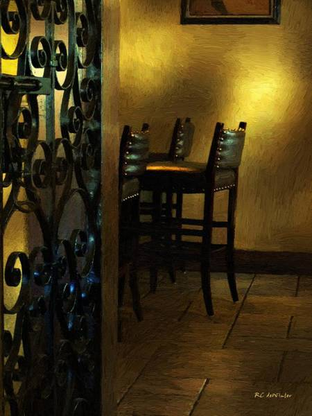 Painting - Closing Time by RC DeWinter