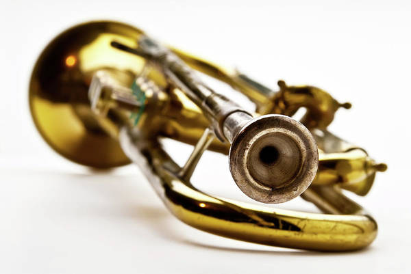Photograph - Closuep Of A Trumpet by  Onyonet  Photo Studios
