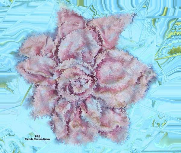 Prb Mixed Media - Cloth Flower Mix by Pamula Reeves-Barker