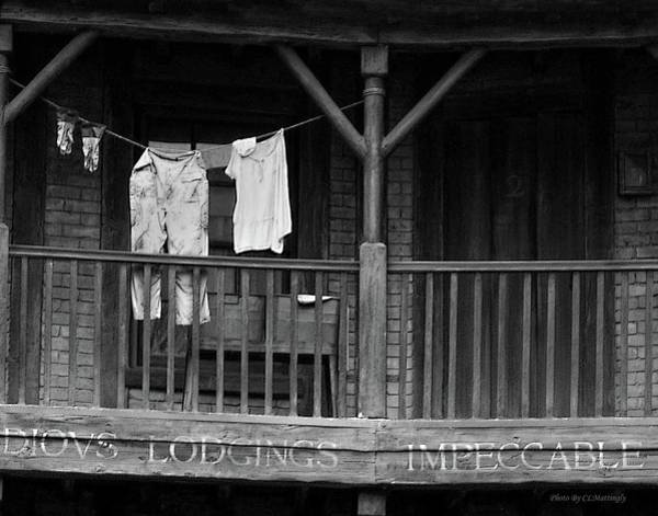 Photograph - Clothes On A Line by Coleman Mattingly