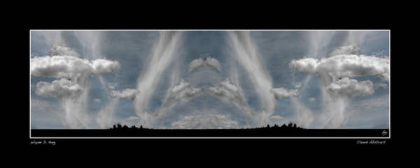 Photograph - Cloud Abstract Poster by Wayne King