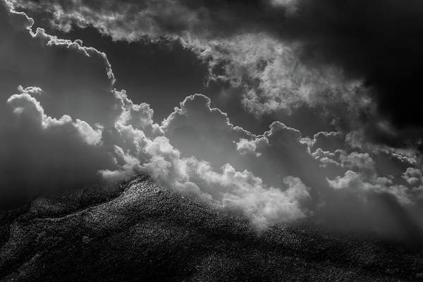 Photograph - Cloud And Stone Landscape by Michael Arend