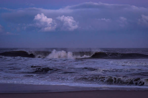 Photograph - Cloud And Wave Seaside New Jersey by Terry DeLuco