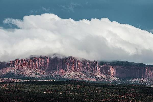 Photograph - Cloud Bank Sitting On The Mesa by NaturesPix