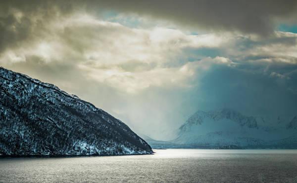 Photograph - Cloud Break At Altafjord Alta Norway by Adam Rainoff